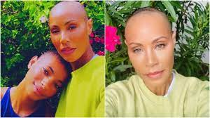 Jada Pinkett Smith goes bald after ...