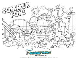 Summer Coloring Pages For Adults Inside - glum.me