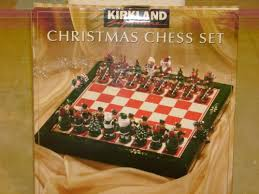 44: Christmas Chess Set | !44: Buying Kirklands Decor