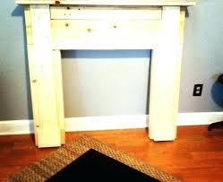 how to build a faux fireplace how to build fake fireplace faux fireplace mantel and surround
