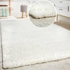 white cream fluffy rug small large plain carpet bedroom gy mat soft modern