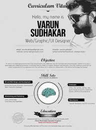 Creative Resume Designs Graphic Designers Resume Corner