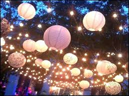 Hanging Paper Lantern Lights Indoor Lanterns How To Hang With Light Bulbs