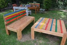 recycled pallets outdoor furniture. outdoor accent pallet table recycled pallets furniture
