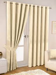 thermal ivory readymade eyelet ringtop curtain