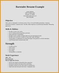 impressive resume example work in texas resume unique bartender resume examples impressive