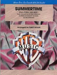 Dave Wolpe Charts Summertime George Gershwin 9780757997655
