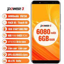 HCM]Điện Thoại Ulefone power 3 ( RAM 6GBROM 64GB) - Màn hình tràn viền ấn  tượng 18: