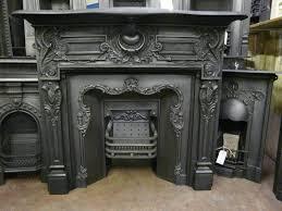 victorian cast iron fire surround 008cs