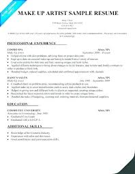 Cosmetology Sample Resume Beauty Consultant Sample Resume Ha