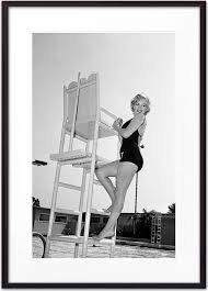 <b>Постер в рамке</b> Мерилин Монро 50 х 70 см — купить в интернет ...