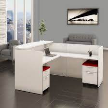 office reception. White Reception Desk With Filing System Office I