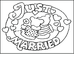 Color Book Printable Free Wedding Coloring Pages Books Personalized