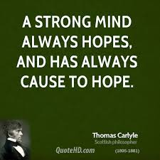 Strong Mind Quotes Beauteous Thomas Carlyle Quotes QuoteHD