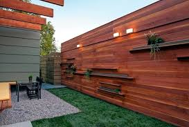Small Picture Screening fence or garden wall 102 Ideas for Garden Design