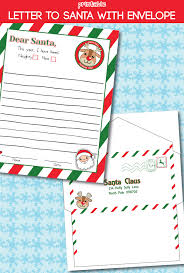 Printable santa letter envelopes that come with the upgraded. Letter To Santa Free Printable Design Dazzle