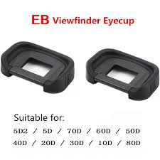 2 pcs Rubber <b>Eye Cup EB</b> Viewfinder <b>Eyecup</b> for <b>Canon EOS 10D</b> ...