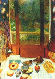 Dining Room Overlooking The Garden By Bonnard Also Known As The Breakfast  Aaron Art Prints