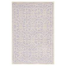landen gray area rug lovely silver ivory color block tufted area rug 7 6 x9