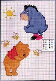 Free Disney Cross Stitch Charts Pooh And Eeyore Cross Stitch Pattern Disney Cross Stitch