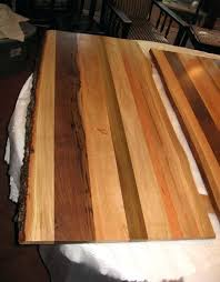 eco friendly wood table and countertops in winston m nc cherry table top 48 round cherry