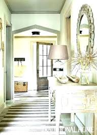 round entryway rugs for runner rug foyer is a gray striped in traditional designed by ideas round entryway rugs