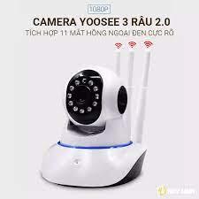 Camera giám sát ip wifi yoosee 3 râu 2.0MP quay FullHD - Đàm thoại 2 chiều  08S