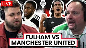 Fulham 1-1 Manchester United | LIVE Stream Watchalong - YouTube