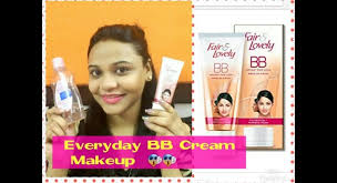 best everyday makeup trick how to apply fair lovely bb cream review
