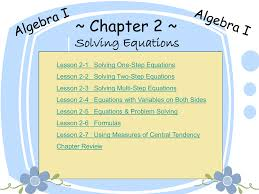 lesson 2 3 problem solving two step and multi equations jennarocca