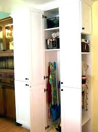 broom closet storage plastic