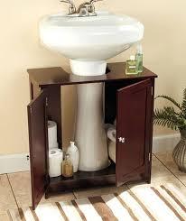 amazing of under pedestal sink storage cabinet with bathroom incredible pedestal sink storage cabinet rickevans homes