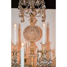 incredible antique french baccarat crystal chandelier