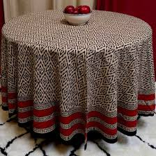 interior amusing 90 inch round tablecloth cotton 30 for home decorating ideas with 90 inch