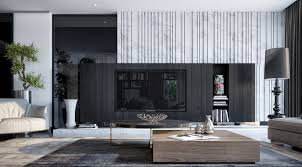 Monochromatic Color Scheme Living Room 30 Black White Living Rooms That Work Their Monochrome Magic