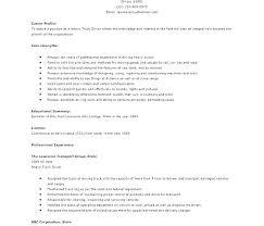 Resume Truck Driver Position Sample Resume For Truck Driver Resume Templates For Truck Drivers