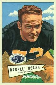 1952 Bowman Small Darrell Hogan #118 Football Card - 154828
