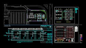 Petrol Station Layout Design Gas Station In Autocad Download Cad Free 2 2 Mb Bibliocad