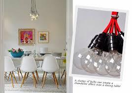 extraordinary hanging bulb chandelier elegant home design styles interior ideas of hanging bulb chandelier