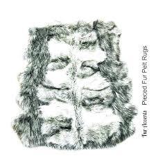 wolf pelt rug faux fur pelt gray wolf area rug pieced collection black pelted jacket wolf pelt rug
