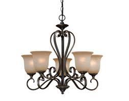 patriot lighting mavis 24 75 oil brushed bronze w gold transitional chandelier at menards