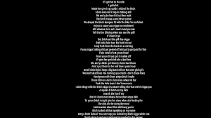 Ass and the hole lyrics