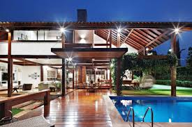 Indoor-Outdoor Synergies modern tropical house idea | Dream house ...