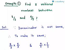 Examples To Find Rational And Irrational Numbers Between