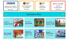 sony tv offers. amazon, great indian sale, diwali offer, smart led tvs sony tv offers a