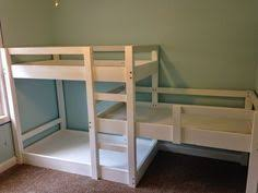 Triple bunk bed build - for when I have grandchildren