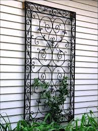 cast iron garden wall art