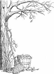 Small Picture Autumn Tree Coloring Pages httpwwwcoloringoutlinecomautumn