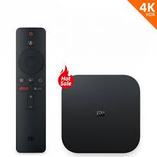 Global Version Xiaomi Mi Box S Smart TV 4K Ultra HD 2G 8G Android TV Box  WIFI Google Cast Netflix Media Player IPTV subscription - MangieS
