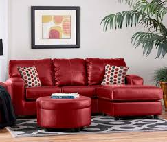 Living Room Decorating With Sectional Sofas Leather Sofa With Ottoman Hotornotlive